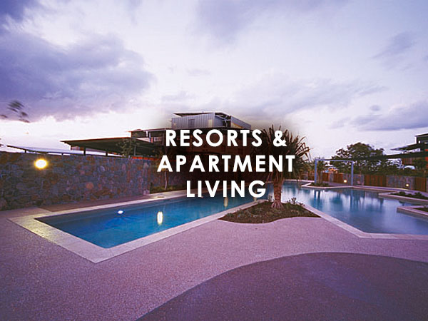 Resorts and Apartment Living Projects
